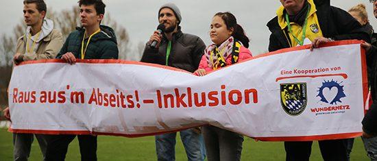 """Bild zum Aktionstag """"Fußball·spiel und Inklusion"""""""