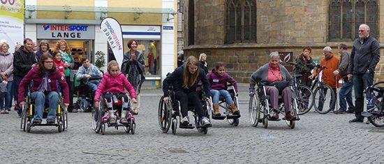 Bild zum Wunder·netz-Aktions·tag auf dem Martk·platz in Amberg