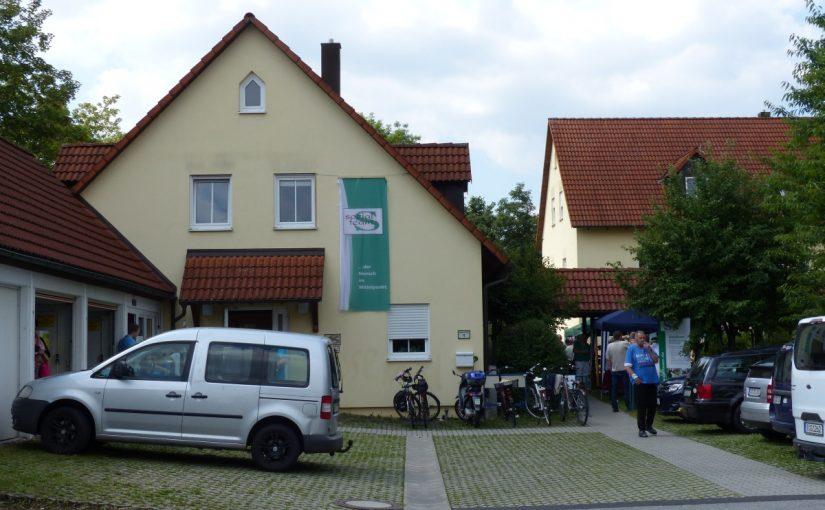Das Gebäude von Haus Rabenholz