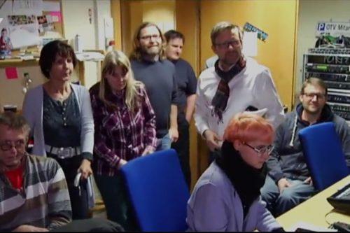 Das Wunder·netz·team ist besucht OTV.