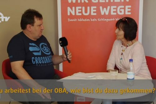 Robert interviewt Hildegard Legat.