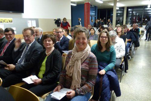 Die Zuschauer bei der Verleihung des Inklusionspreises