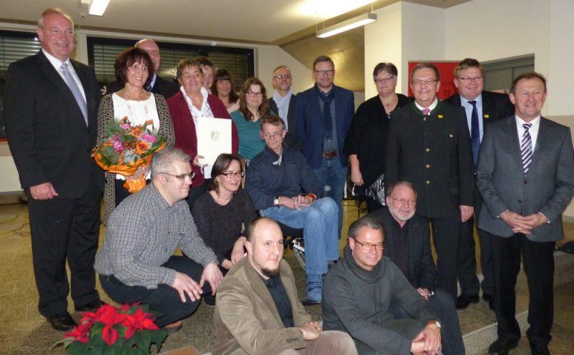 Die Preisträger des Inklusionspreises zusammen auf einem Gruppenbild
