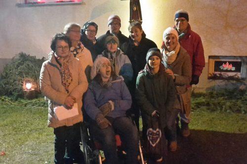 Gruppenfoto der Wundernetzgruppe