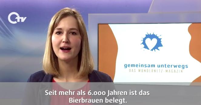 Ausschnitt aus der Sendung: Sandra Dietl moderiert