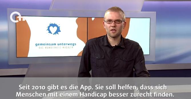 Ausschnitt aus der Sendung: Andreas Felser moderiert