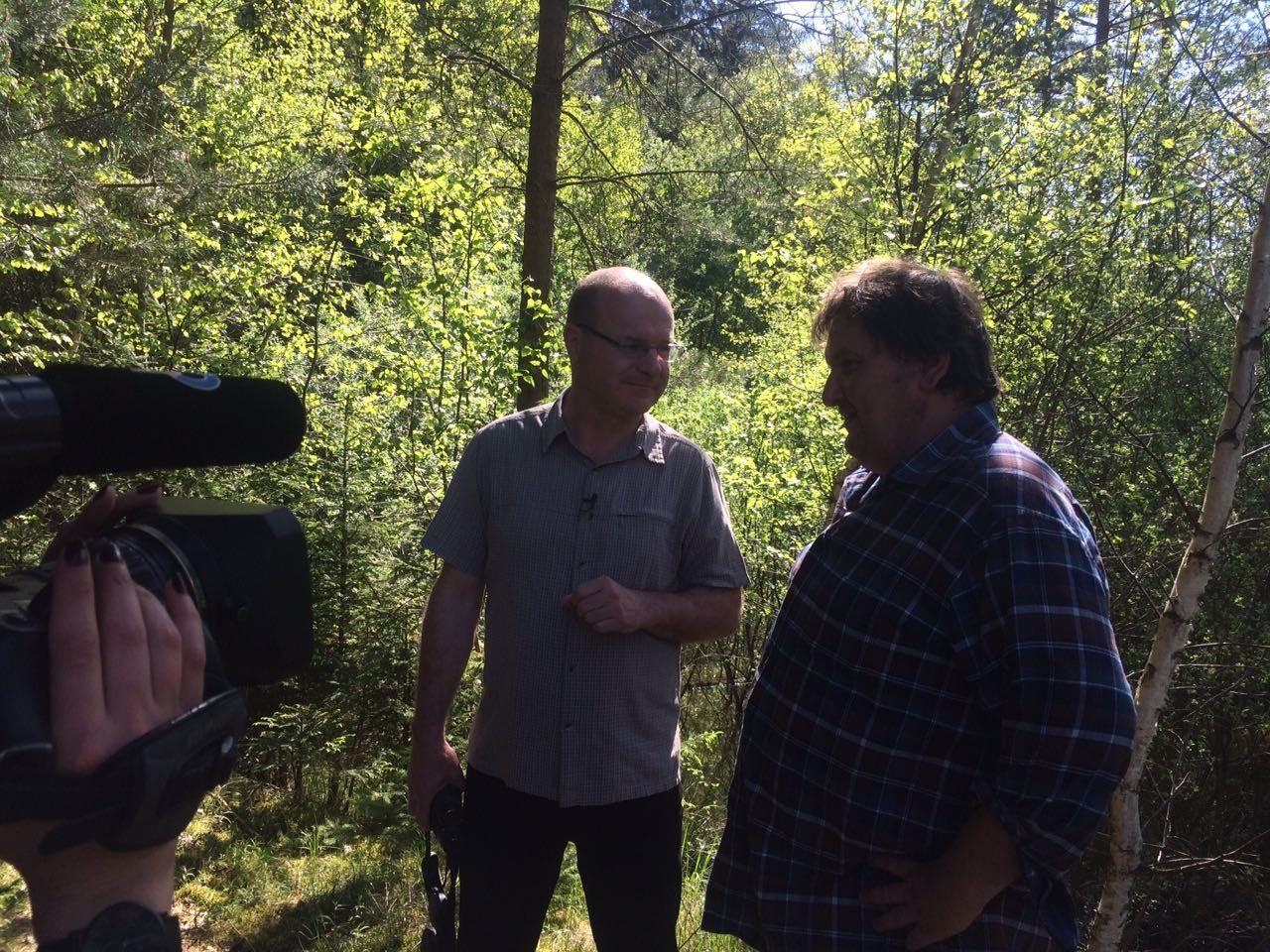 Robert interviewt Dr. Norbert Schäffer vom LBV