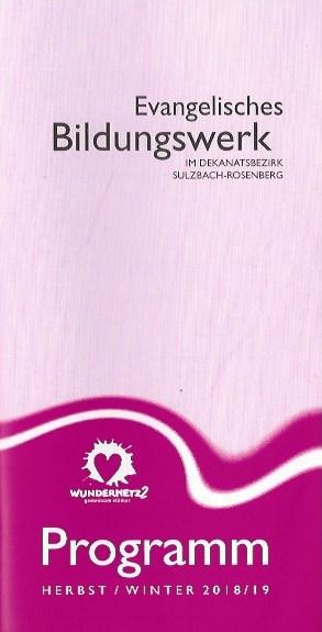 Deckblatt des Programmhefts